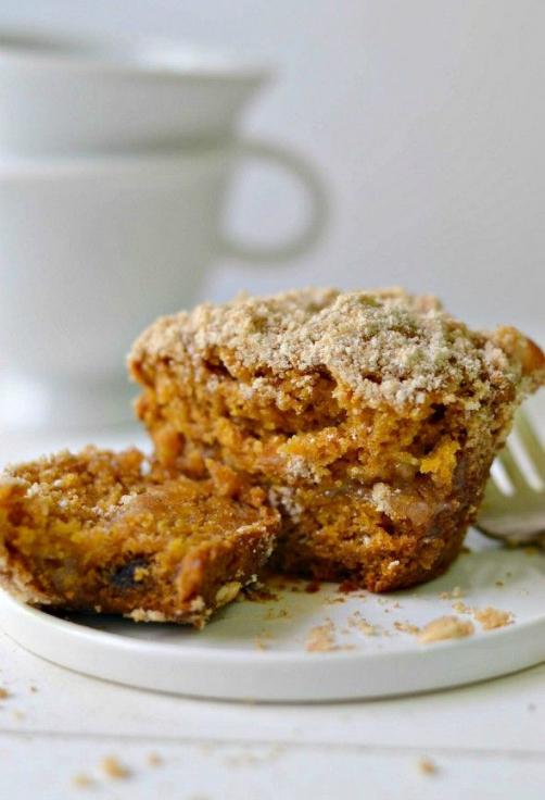 vegan+pumpkin+muffins